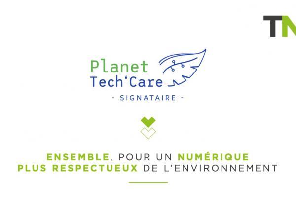 TNP signataire du manifeste Planet Tech'Care